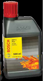 Bosch Brake Fluid DOT 3 Plus 500 ml F002H60018-8F8-Auto Parts-Bosch-Helmetdon