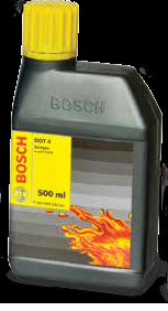 Bosch Brake Fluid DOT 4 500 ml F002H60021-8F8-Auto Parts-Bosch-Helmetdon