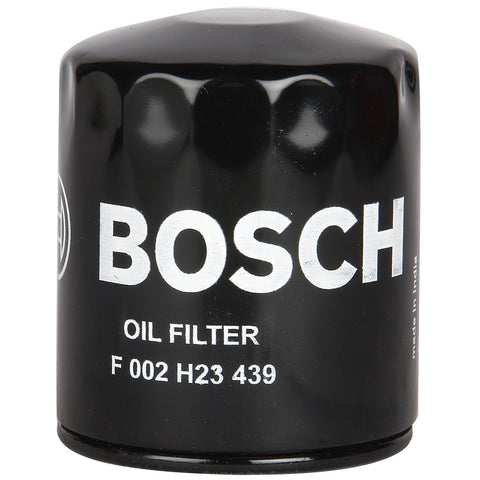 Bosch F002H234398F8 Replacement Lube Oil Filter for Mahindra Scorpio-Auto Parts-Bosch-Helmetdon
