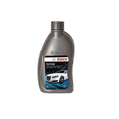 Bosch Synergy F002H23707 SN/CF 5W 40 Fully Synthetic Engine Oil for Petrol and Diesel Cars (1 L)-Bosch-Helmetdon
