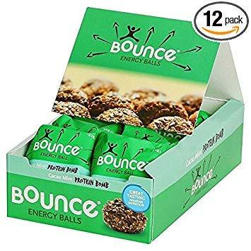 Bounce Energy Balls Cacao Mint Multipack - 12 x 42g (1.11lbs)-Beauty-Bounce-Helmetdon