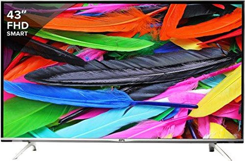 BPL 109 cm (43 inches) Stellar BPL109E36SFC Full HD LED Smart TV (Black)-BPL-Helmetdon