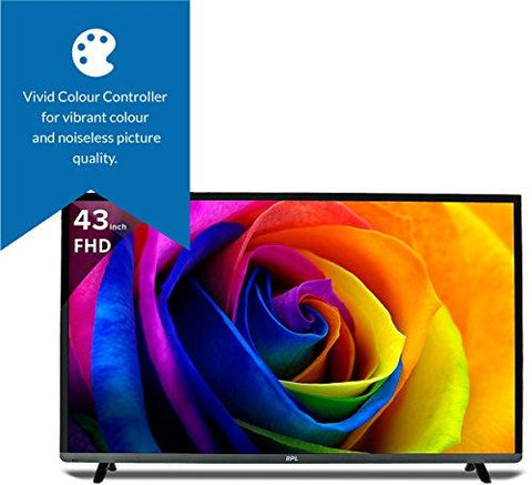 BPL 109 cm (43 inches) Vivid BPL109F2010J Full HD LED TV (Black)