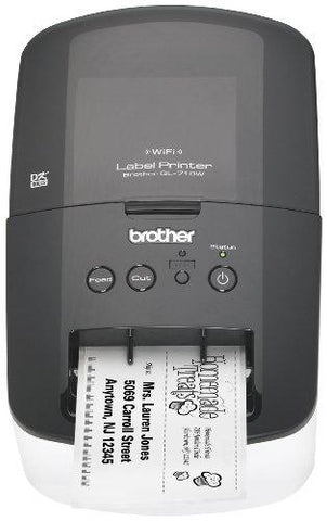 Brother High-Speed Label Printer with Wireless Networking (QL710W)-Wireless-BROTHER-Helmetdon