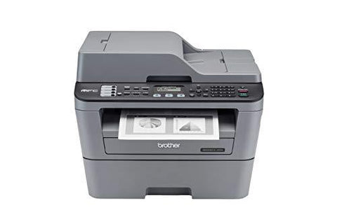 Brother MFC L2701D Monochrome Multi-Function Laser Printer with Auto Duplex Printing-Personal Computer-Brother-Helmetdon