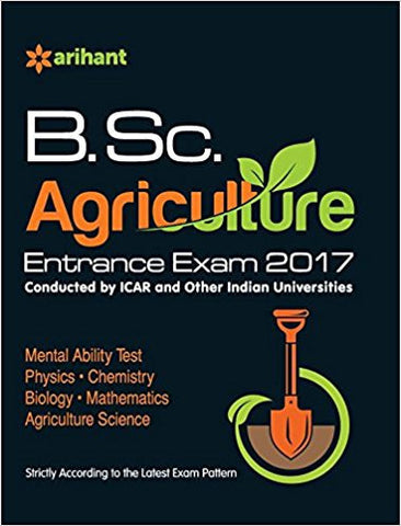 B.Sc. Agriculture Entrance Exam 2017-Books-TBHPD-Helmetdon