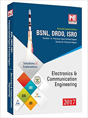 BSNL, DRDO, ISRO: Electronics & Communication Engineering - Previous Solved Papers - 2017-Books-TBHPD-Helmetdon