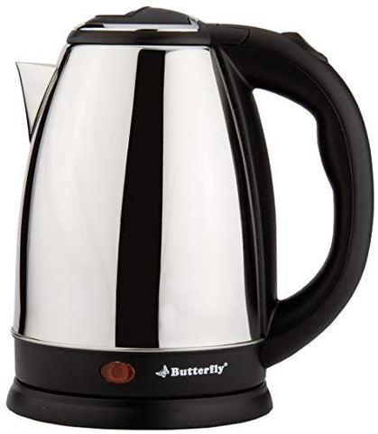 Butterfly EKN 1.8L 1500 Watt Electric Water Kettle (Stainless Steel)-Kitchen-Butterfly-Helmetdon