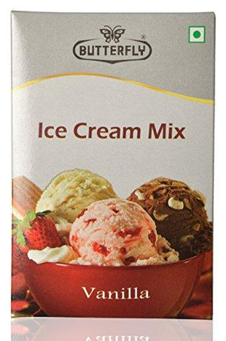 Butterfly Instant Ice Cream Mix Vanilla, 150 Grams-Grocery-Butterfly-Helmetdon