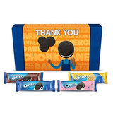 Cadbury Oreo Assorted Biscuits Gift Pack with Thank You Sleeve, 600 g-Grocery-Cadbury OREO-Helmetdon