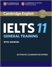 Cambridge English: IELTS 11 General Training with Answers-Books-TBHPD-Helmetdon