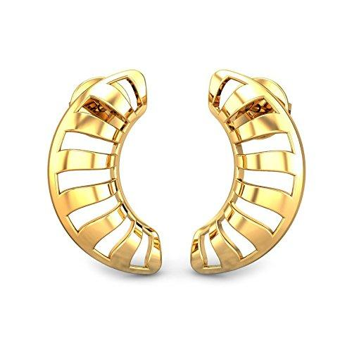 7e9be4af5 Candere By Kalyan Jewellers 22k (916) Yellow Gold Josie Stud Earrings for  Women-