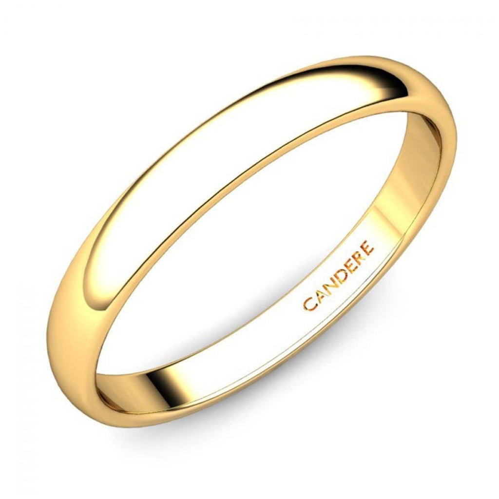 Ring Yellow Women Kalyan Jewellers Gold For Candere By 4A35RjLq