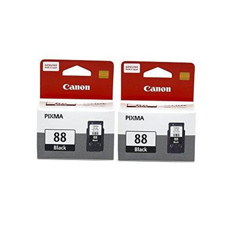 Canon Combo of 2 PG-88 Fine Ink Cartridge (Black)-Personal Computer-Canon-Helmetdon