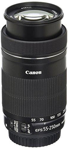 Canon EF-S 55-250mm F4-5.6 is STM Lens for SLR Cameras-CE-Canon-Helmetdon