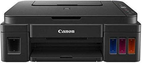 Canon Pixma G2012 All-in-One Ink Tank Colour Printer (Black)-Personal Computer-Canon-Helmetdon