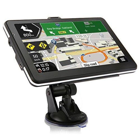 Car GPS Navigation Vehicle GPS SAT NAV 16GB 7 Inches Touchscreen System Included Overall America Maps map for US-CE-Tvird-Helmetdon