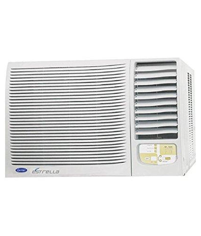 Carrier ESTRELLA Window AC (1.5 Ton, 5 Star Rating, White, Copper)-Carrier-Helmetdon