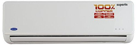 Carrier Superia Split AC (1 Ton, 3 Star (2018) Rating, White, Copper)-Carrier-Helmetdon