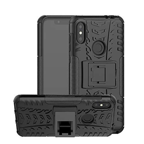 sports shoes 7bd5a 53691 Casodon Motorola Moto One Power, Back Cover, Real Hybrid Shockproof Bumper  Defender Cover, Kick Stand Back Case Cover for Motorola Moto One Power ...