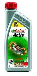 CASTROL ACTIV 4T 10W30 1LTR Recommended for Honda Models-Automotive Parts and Accessories-Castrol-Helmetdon