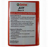 Castrol ATF Dex-II Power Steering Oil for Cars-Automotive Parts and Accessories-Castrol-Helmetdon