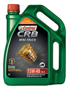 CASTROL ENGINE OIL CRB MINI TRUCK 3 L-Automotive Parts and Accessories-Castrol-Helmetdon