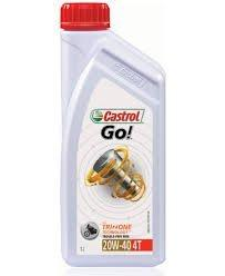 CASTROL Go! 4T 20W40 1000 ml-Automotive Parts and Accessories-Castrol-Helmetdon