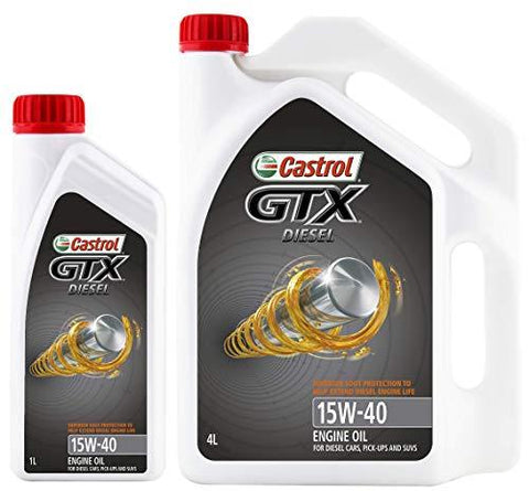 CASTROL GTX Diesel for All Diesel Engines 3.5LTR-Automotive Parts and Accessories-Castrol-Helmetdon