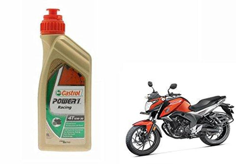 castrol Power1 10W-50 4T Bike Engine Oil-Honda CB Hornet 160 (1l)-Automotive Parts and Accessories-castrol-Helmetdon