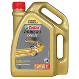 Castrol POWER1 Cruise 4T 15W-50 Synthetic Engine Oil for Bikes (2.5L)-Automotive Parts and Accessories-Castrol-Helmetdon