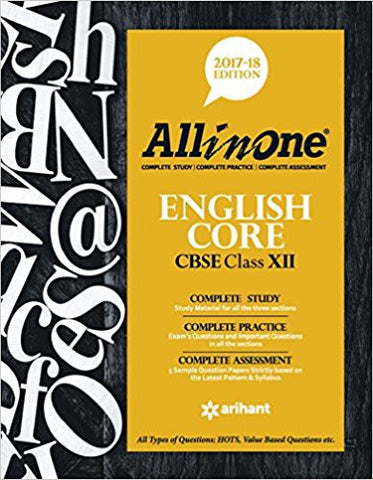CBSE All in One English Core Class 12-Books-TBHPD-Helmetdon