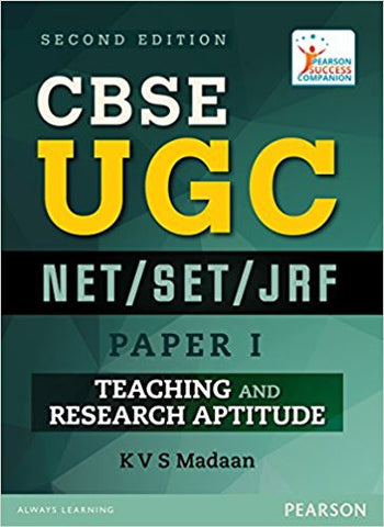 CBSE UGC NET/SET/JRF - Paper 1: Teaching and Research Aptitude-Books-TBHPD-Helmetdon
