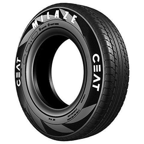 Ceat 101584 Milaze TL 175/65 R14 82T Tubeless Car Tyre-Automotive Parts and Accessories-Ceat-Helmetdon