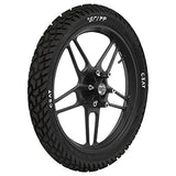 Ceat Gripp 3.00-18 52P Tube-Type Bike Tyre, Rear (Home Delivery)-Automotive Parts and Accessories-Ceat-Helmetdon