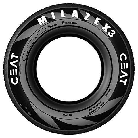 Ceat Milaze X3 TL 185/65 R14 86T Tubeless Car Tyre, Front-Automotive Parts and Accessories-Ceat-Helmetdon