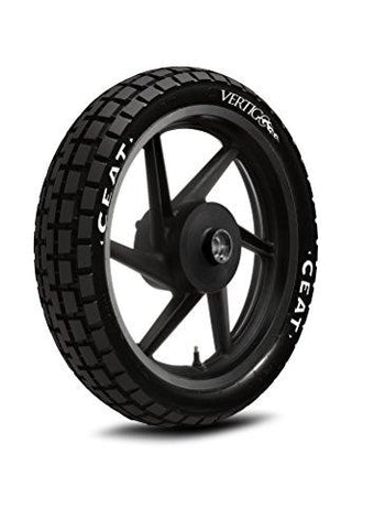 Ceat Vertigo Sport 100/90-17 55P Tubeless Bike Tyre, Rear (Home Delivery)-Automotive Parts and Accessories-Ceat-Helmetdon