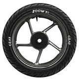Ceat Zoom XL 140/70-17 66H Tubeless Bike Tyre, Rear (Home Delivery)-Automotive Parts and Accessories-Ceat-Helmetdon