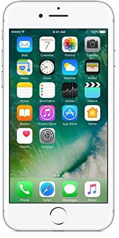 (CERTIFIED REFURBISHED) Apple iPhone 7 (Silver, 128GB)-Apple-Helmetdon