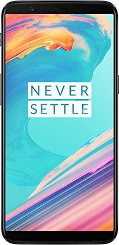 (CERTIFIED REFURBISHED) OnePlus 5T (Midnight Black, 128GB)-OnePlus-Helmetdon