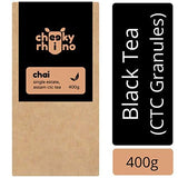 cheekyrhino Chai - Single Estate Black CTC Tea from Assam (400g)-Grocery-cheekyrhino-Helmetdon