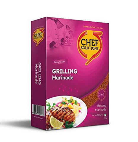 Chef Solutions Grilling Marinade - 500 Grams-Grocery-Chef Solutions-Helmetdon