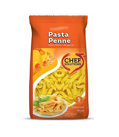Chef Solutions Pasta Penne - 500 gms-Grocery-Chef Solutions-Helmetdon