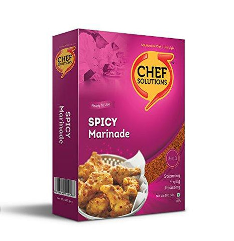 Chef Solutions Spicy Marinade 500g-Grocery-Chef Solutions-Helmetdon