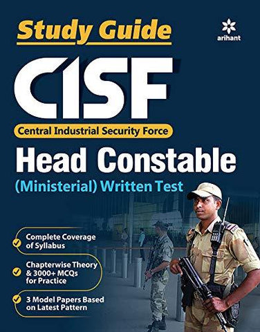 CISF Head Constable Guide 2019-Book-Arihant Publications-Helmetdon