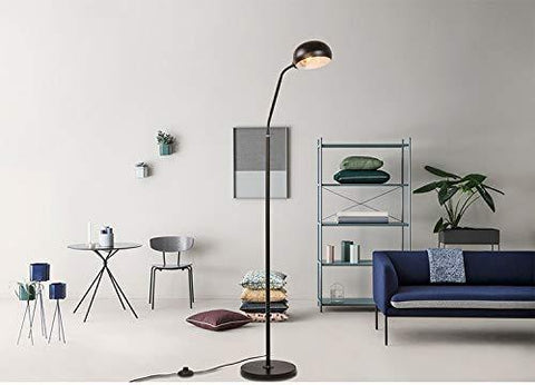 CITRA Black Marble Base Modern Floor lamp E 26/27 Living ...