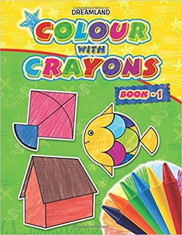 Colour with Crayons - Part 1-Books-TBHPD-Helmetdon