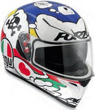 Comic , Small : AGV 0101-7511 K-3 SV Motorcycle Helmet (Comic, Small)-AGV-Helmetdon