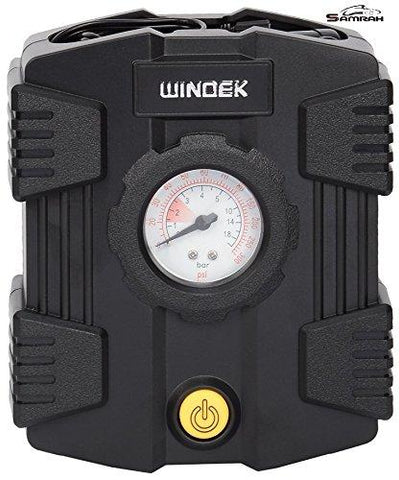 Compact Car Tire Inflator Windek 300 Psi for Mahindra KUV100-Automotive Parts and Accessories-Samrah-Helmetdon