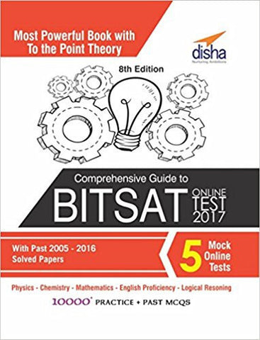 Comprehensive Guide to BITSAT Online Test 2017 with Past 2005-2016 Solved Papers & 5 Mock Online Tests-Books-TBHPD-Helmetdon